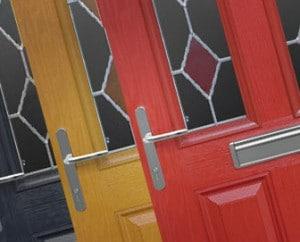 3 colour composite door