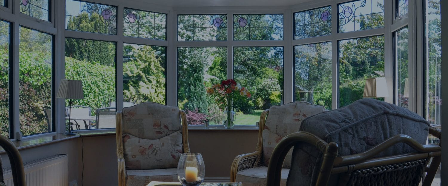 the interior of a conservatory with a warm roof conversion installed by solfix
