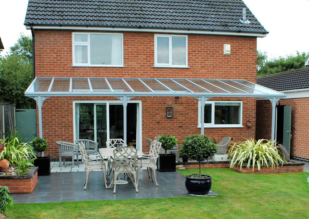 Enjoy shelter from the breeze or unwelcome rain or just a pleasant shade. & Carports UK | Door Canopies | Porch Garden u0026 Patio Canopies